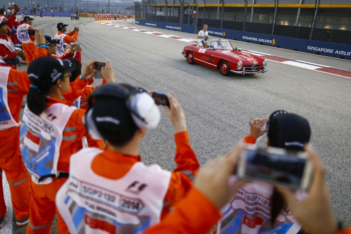 Egy apróság tette tönkre Rosberg versenyét: borzalmas volt látni, amint elmegy a mezőny