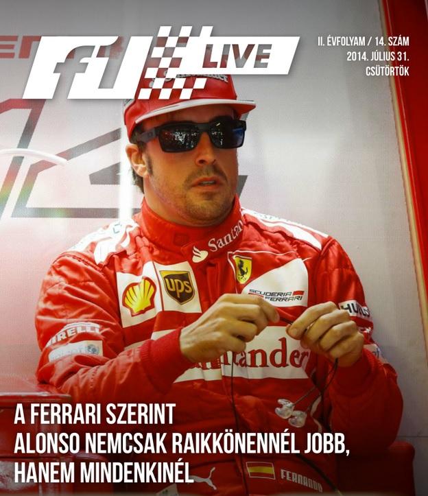 Táblamagazin: Nincs jobb versenyző Fernando Alonsónál?!