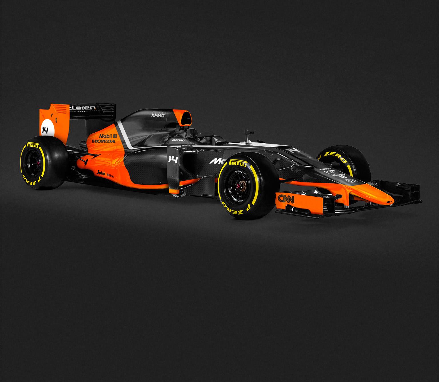 Egy újabb szenzációs és feltűnő festés a McLaren-Hondának