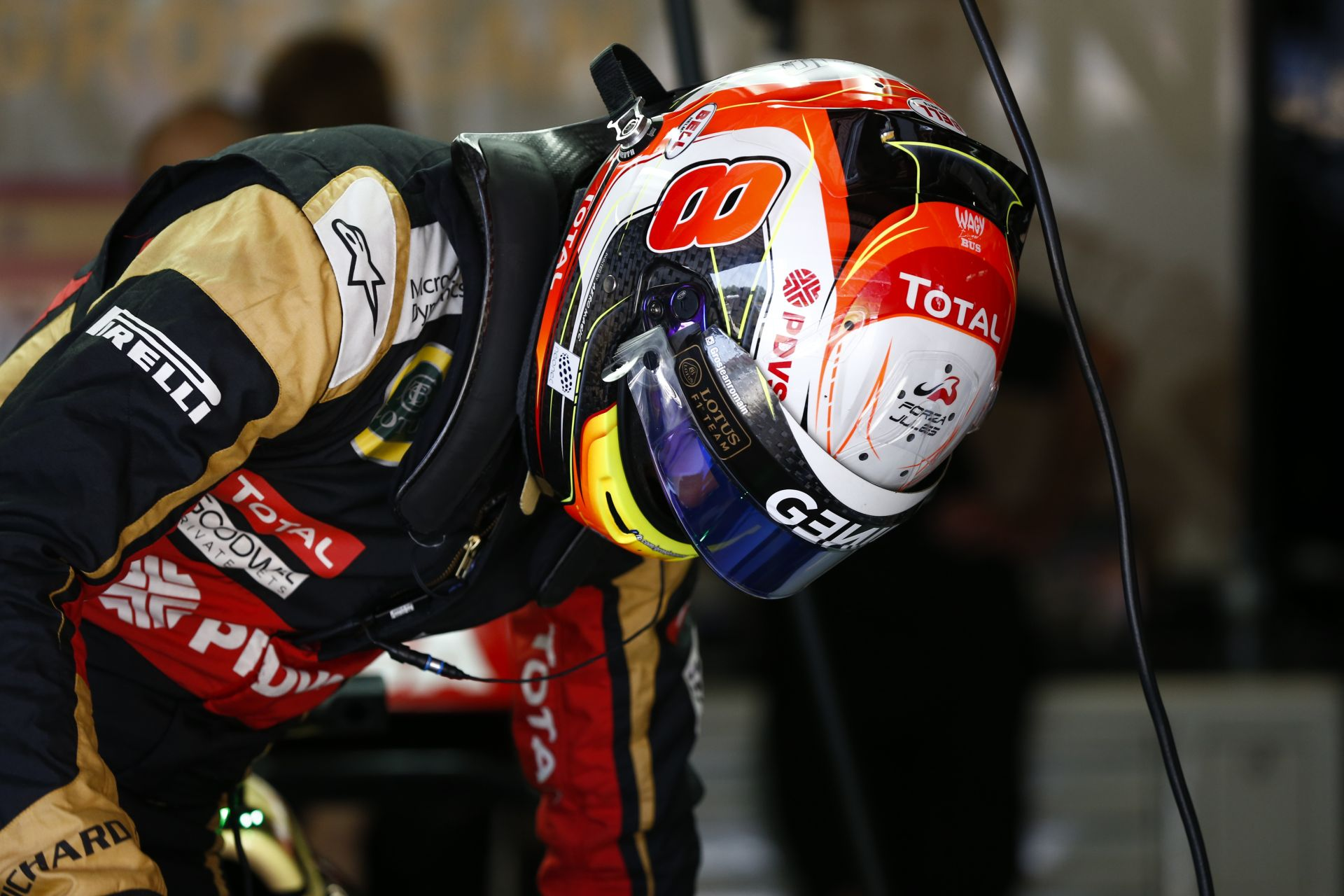 Grosjean 11. helye ahhoz képest nagyon jó, hogy szerinte reggel még a Q2 is necces lett volna