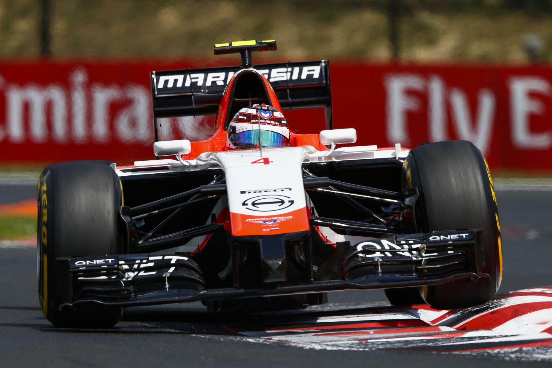 BRÉKING: Versenyzőt cserél a Marussia F1 Team Belgiumban!