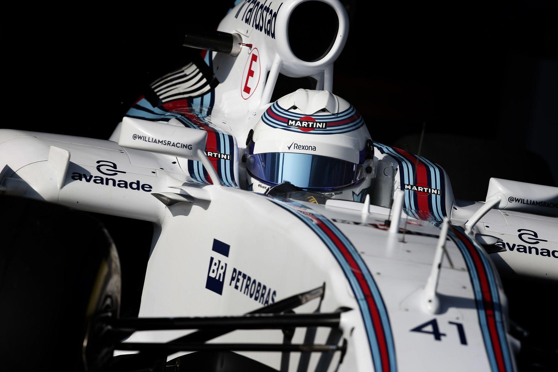 A Williams zsákutca a női pilótának: 2016-ban a Lotusnál mutatkozhat be?