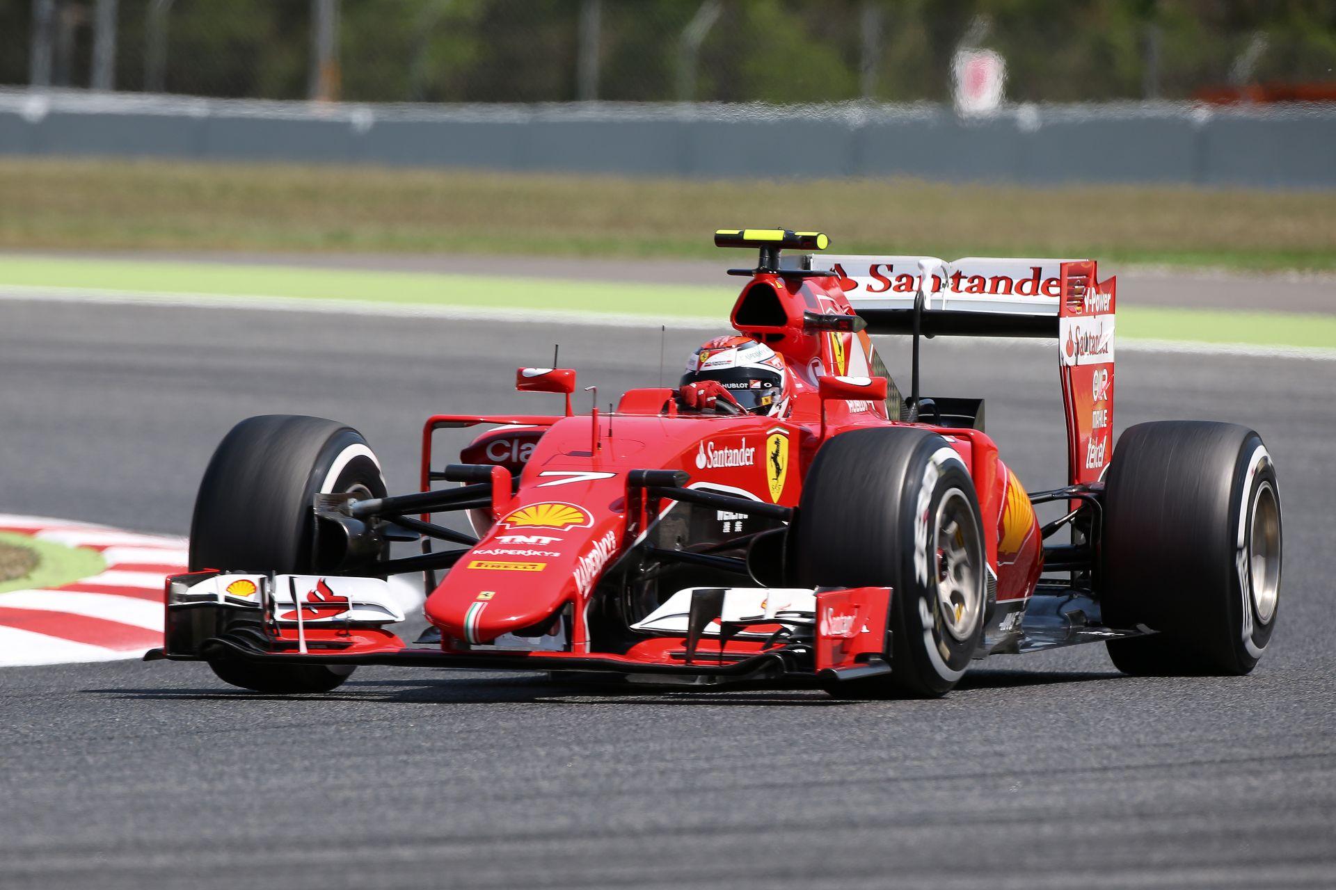 Raikkönen ma inkább hokizott, mint F1-es Ferrarit vezetett