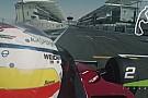 Ez ám a tuti F1-es cucc: Gilles Villeneuve Ferrarijával Abu Dhabiban