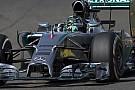 Videón Rosberg nem mindennapi problémája a Mercedes volánja mögött