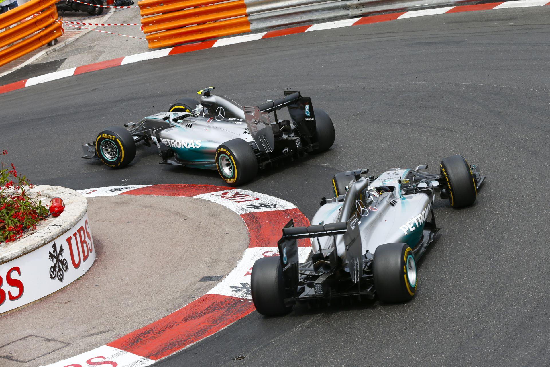 Hamilton idén nem bízza Rosbergre a monacói időmérő végét!