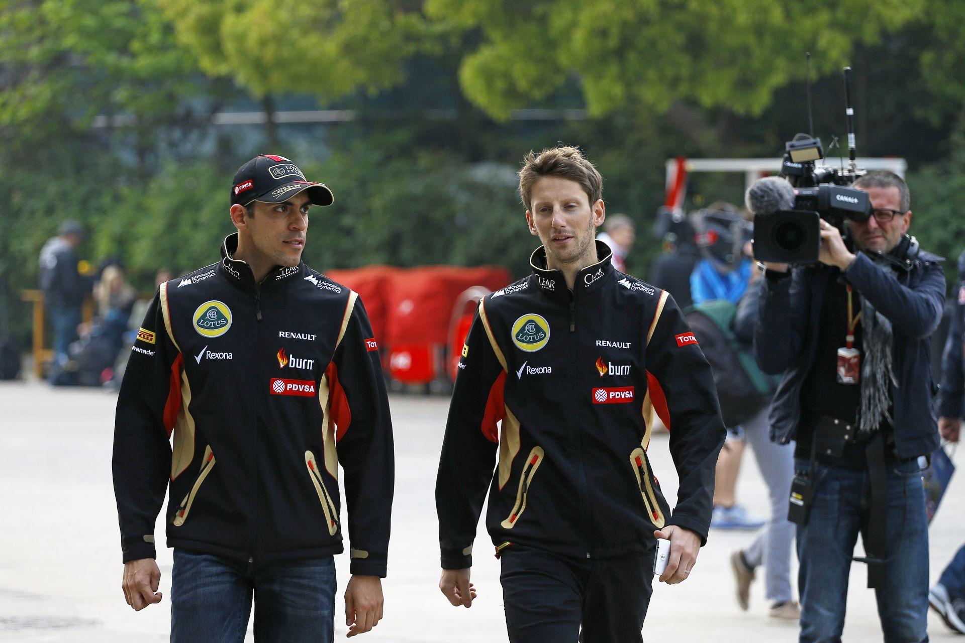 Grosjean és Maldonado is versenyeket nyerne a Lotusszal: A Mercedes majd lehetővé teszi ezt?
