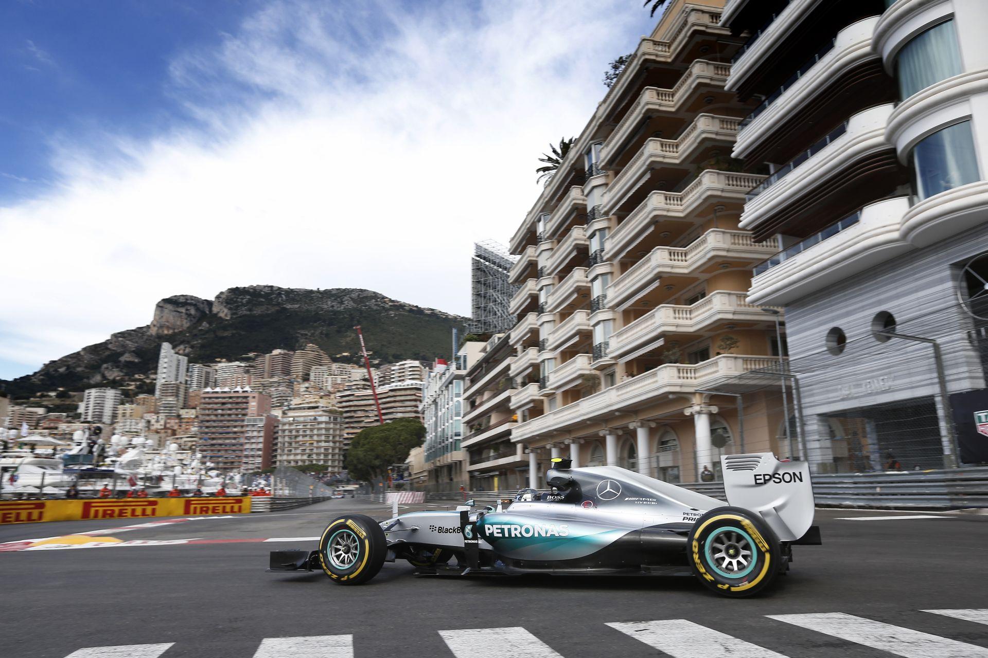 Mercedes: Elég sokba fáj nekünk az a néhány tized, amivel Hamilton megszerezte a polet Monacóban!