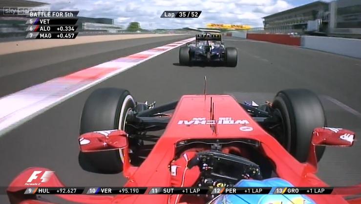 Alonso és a legszebb előzés Vettel ellen a Brit Nagydíjon: A spanyol betette, de nagyon!