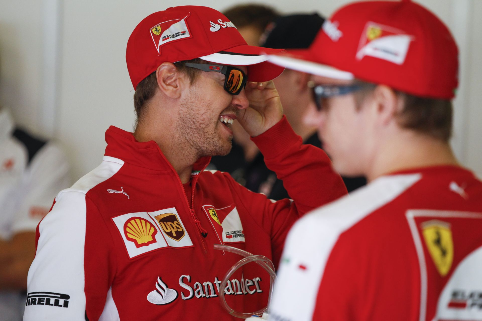 Vettel: Kimivel nem irtózunk egymástól, de azért közeli barátok sem vagyunk!
