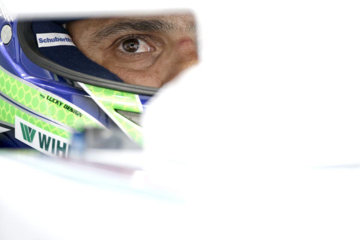 Massa: ha nem gondolsz a győzelemre a harmadik helyen, akkor baj van