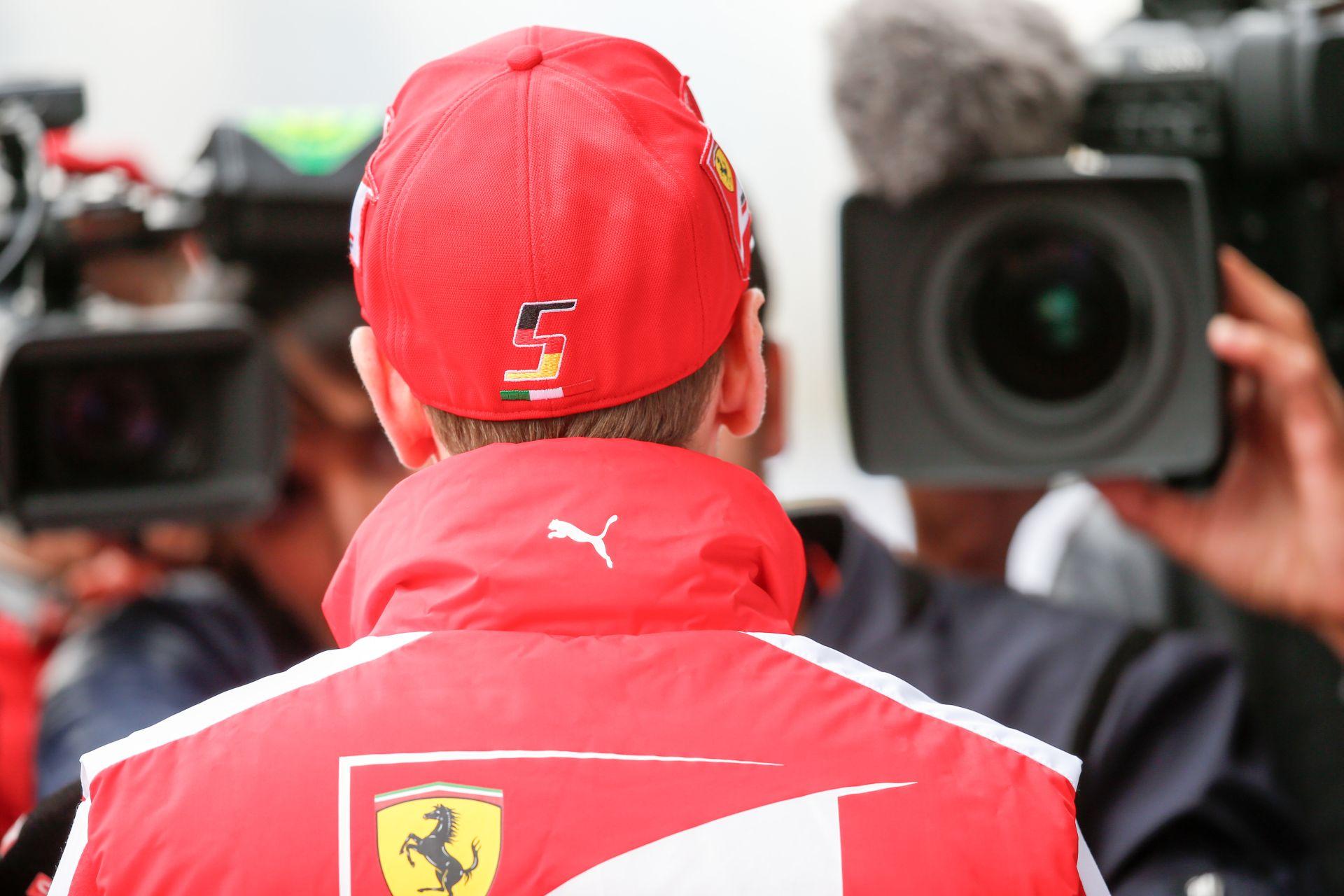 Vettel: A Mercedes előnye elég nagynak tűnik, de majd meglátjuk!