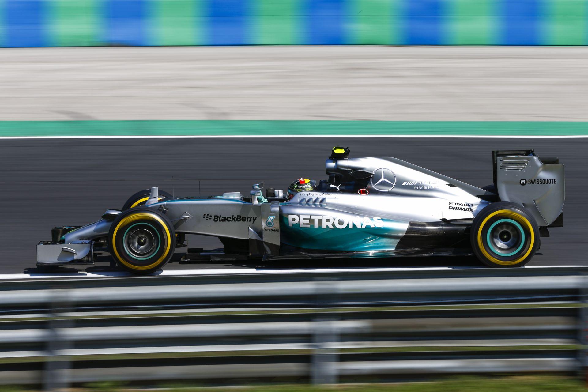 A Mercedesnek az is üzlet, ha Hamilton lesz a bajnok és nincs kivételezés Rosberggel