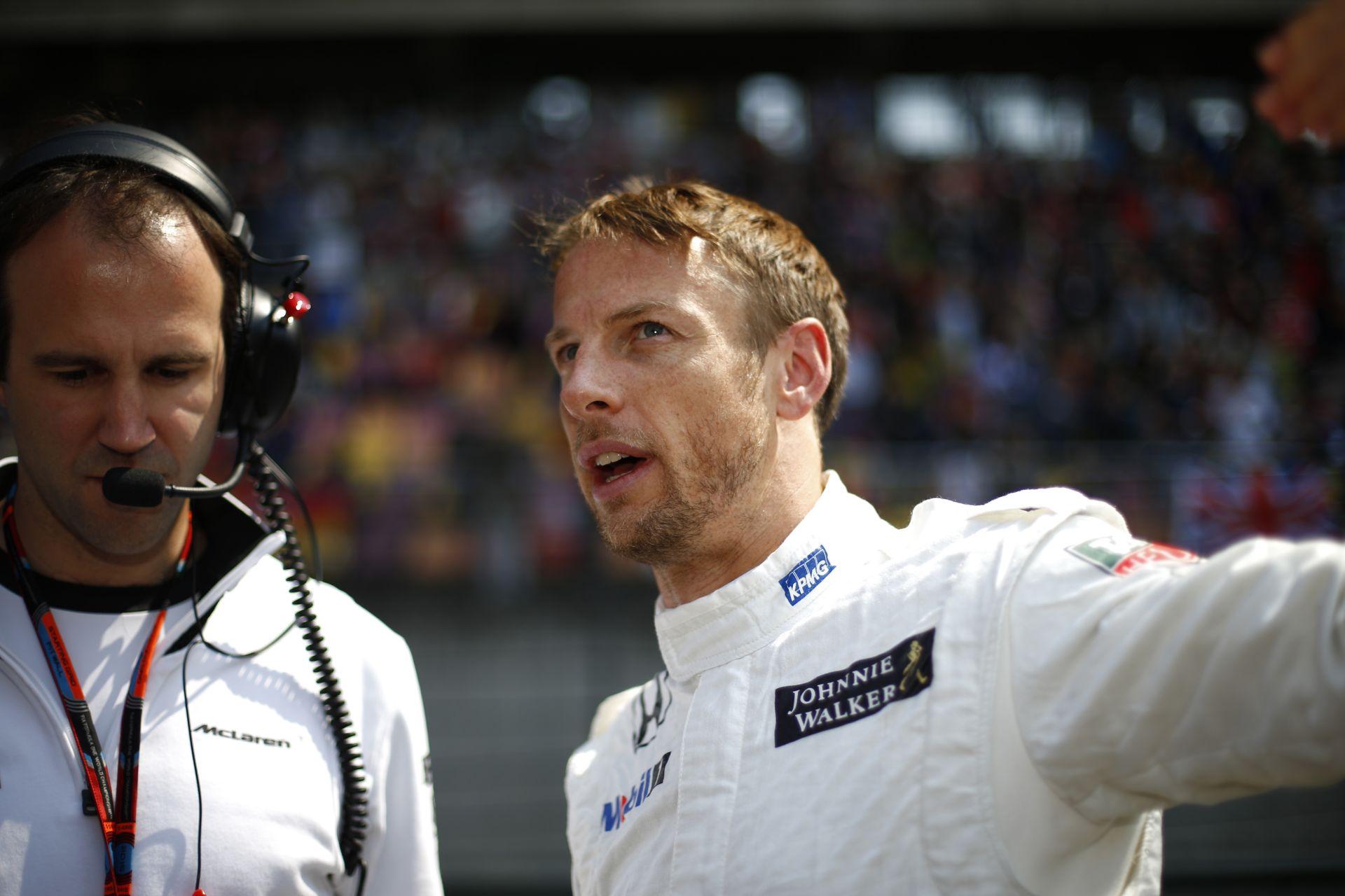 Button: A McLarennek nem az erőforrás az egyetlen problémája