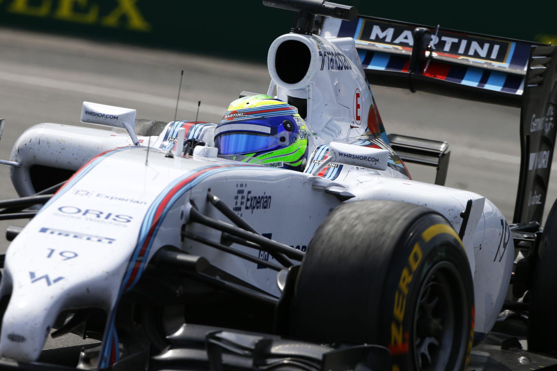 Kanadai Nagydíj 2014: Massa volt a leggyorsabb a versenyen