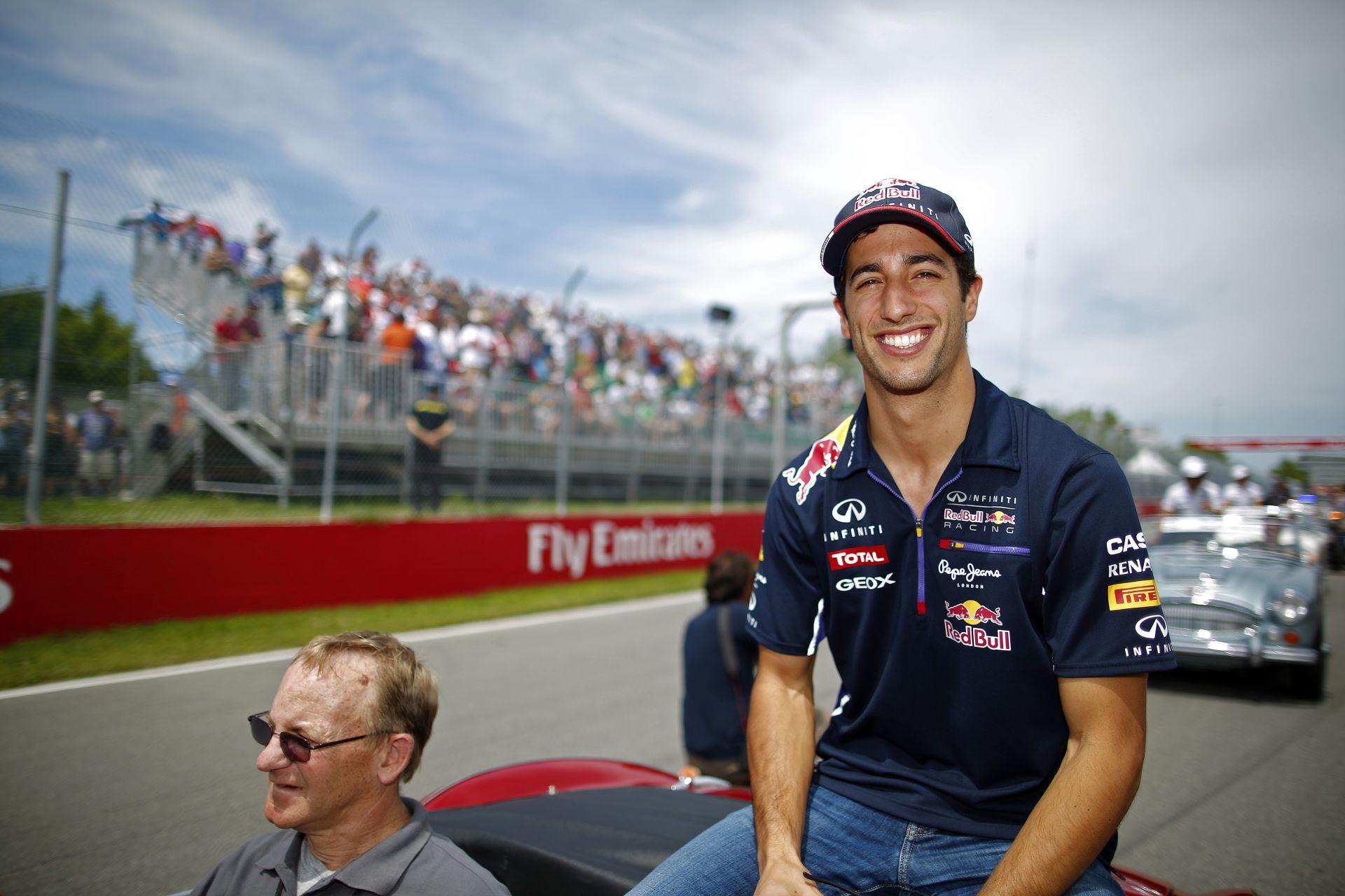 Webber: Mindenki őrültnek gondolt, amikor azt mondtam, Ricciardo ott lehet Vettel nyakán
