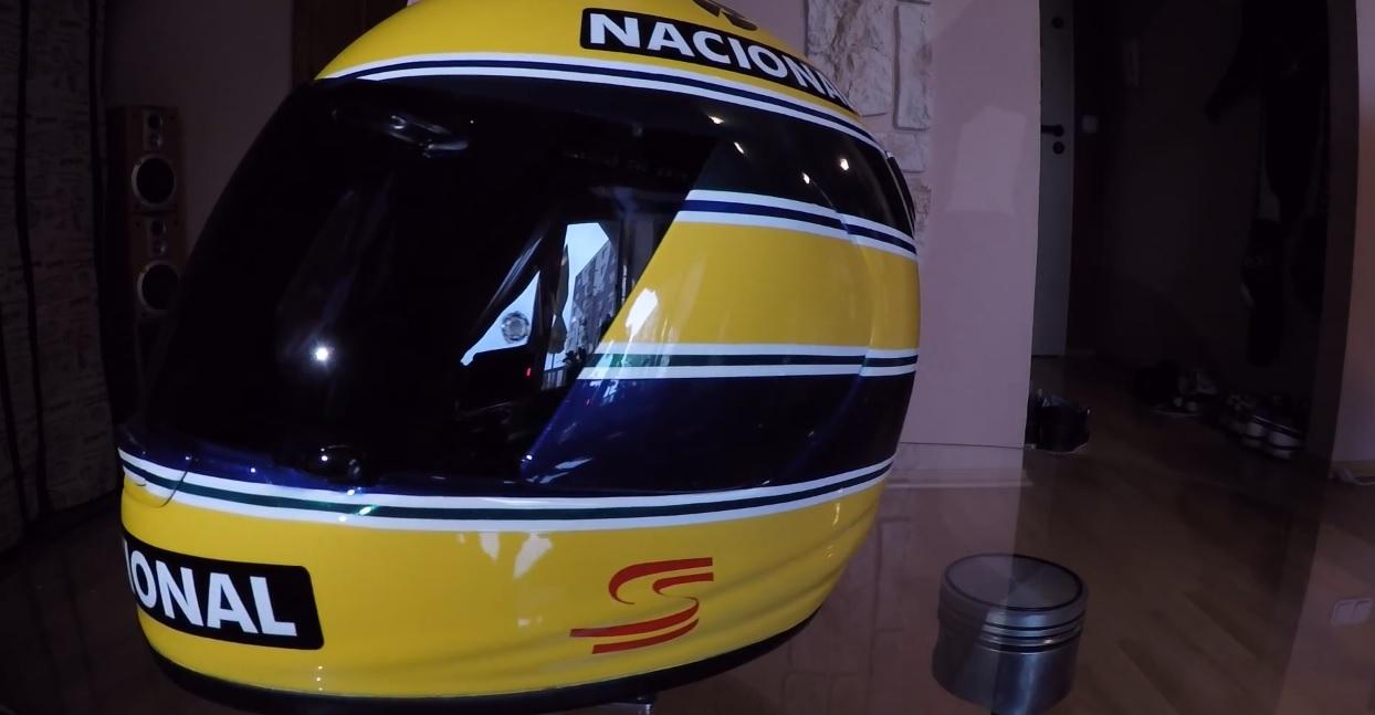 Megtaláltuk minden idők egyik legnagyobb Ayrton Senna rajongóját!