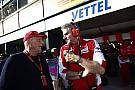 A Ferrari már a Mercedesre koncentrál