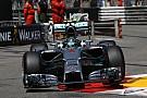 Videón Rosberg állítólagos hibája, összehasonlítván a pole körével