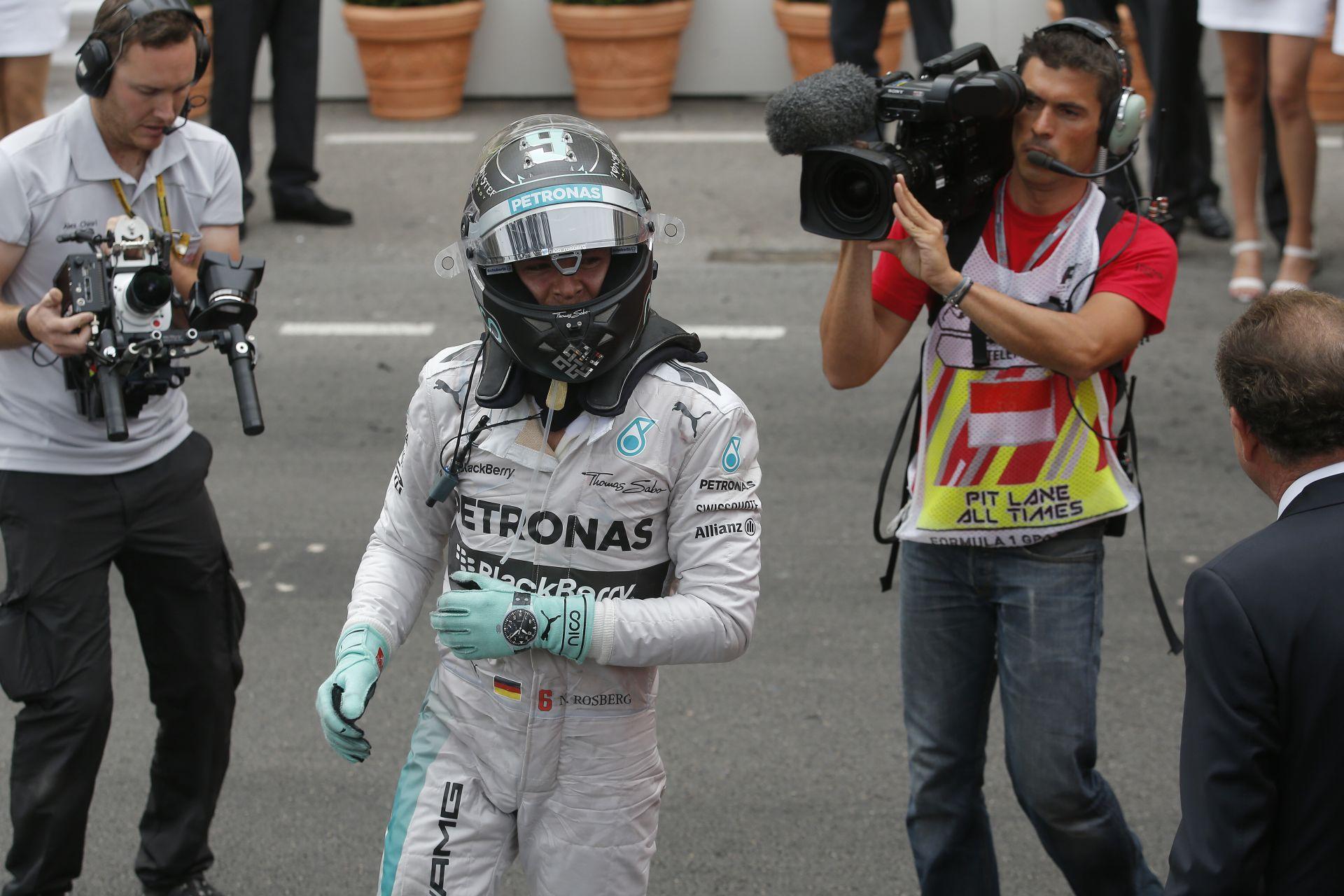 Rosberg rádiós üzenete a monacói győzelmét követően