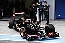 Képgaléria az új Lotusról: Pályán az E23