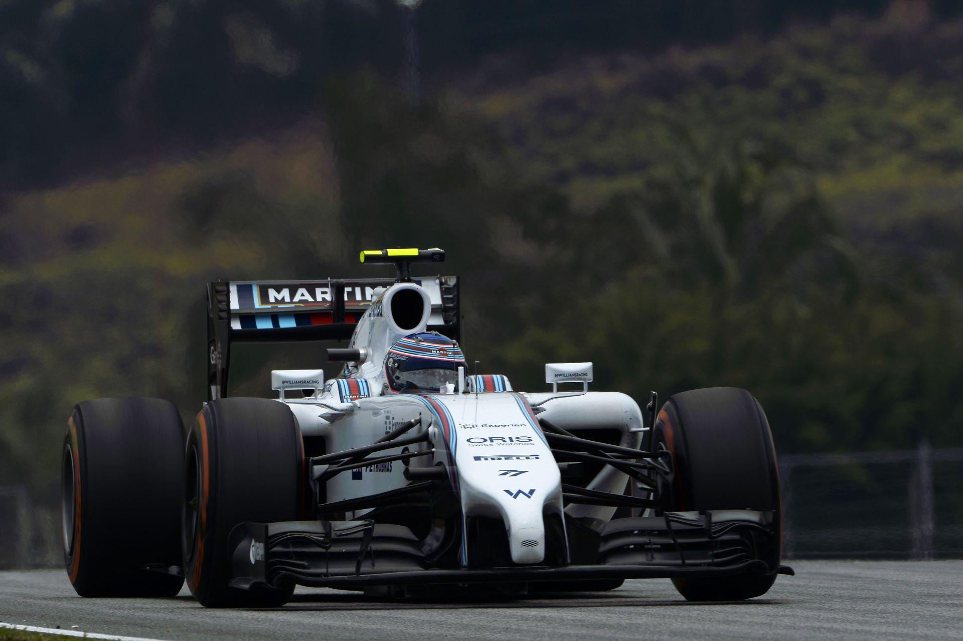 Nagyon komolyan fogyaszt a Williams: Massa és Bottas autója a legjobb ezen a területen