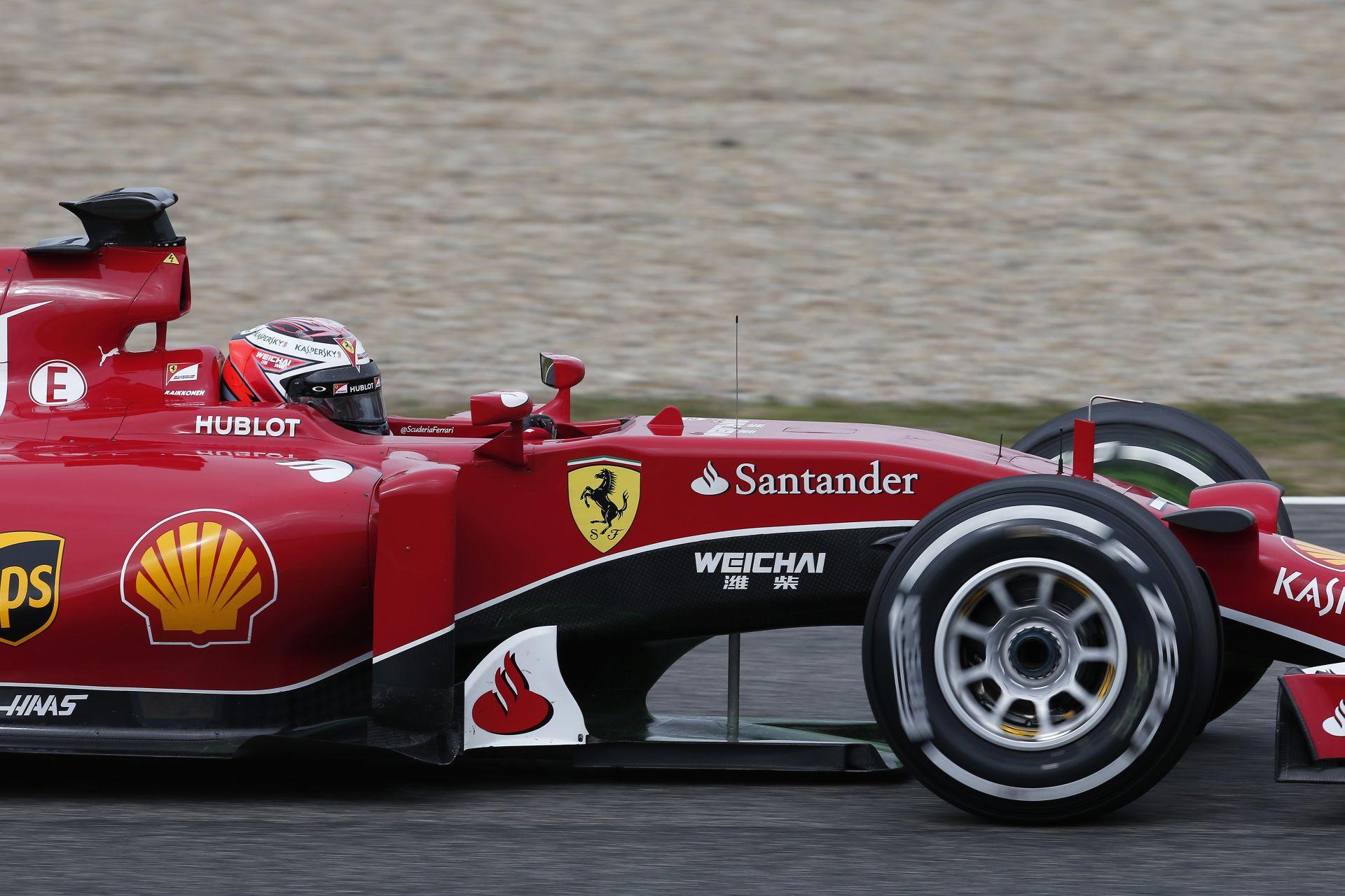 Legenda dolgozott Raikkönen és Vettel autóján