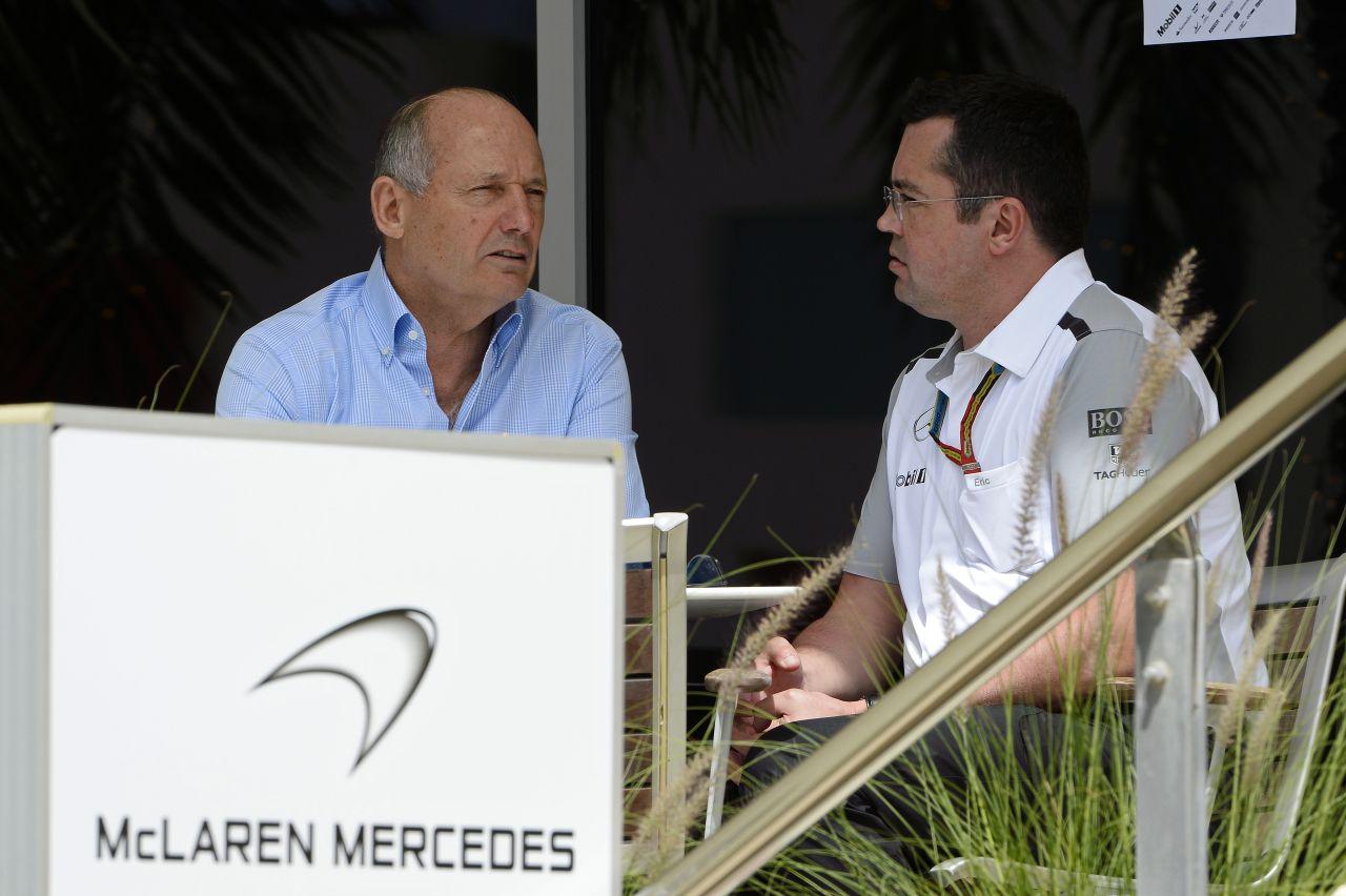 A folyamatos fejlődés a cél a McLarennél - 2015-ben Magnussen és Vandoorne?
