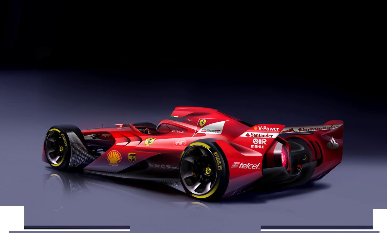 Rosbergnek bejön a Ferrari látványterve: jó ötlet a részben burkolt kerék