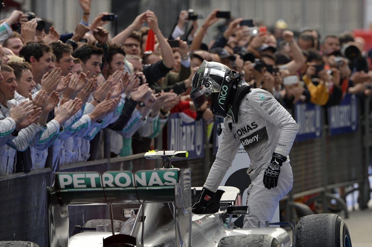 """Rosberg joggal volt dühös a rádióban: túl sokat """"csevegtek"""", rossz helyen"""