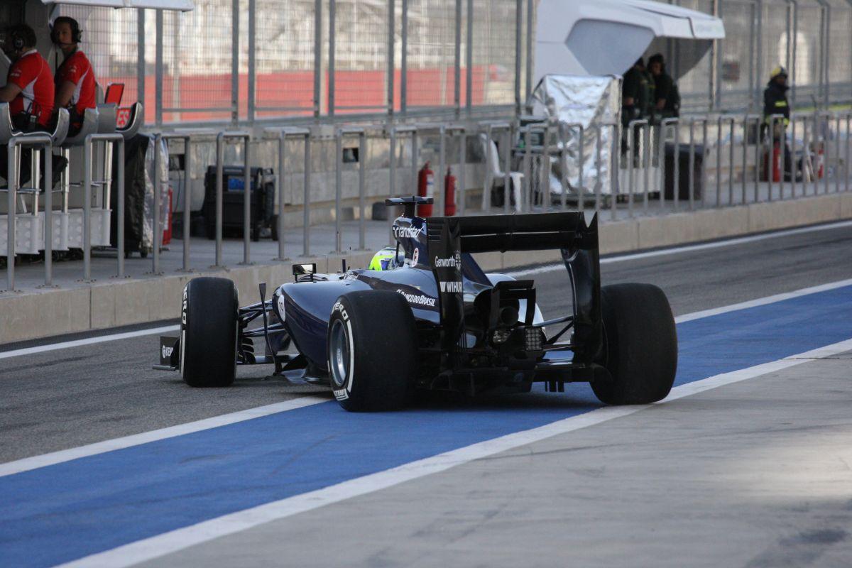 Massa: Nagyon boldog vagyok a Williams autója miatt