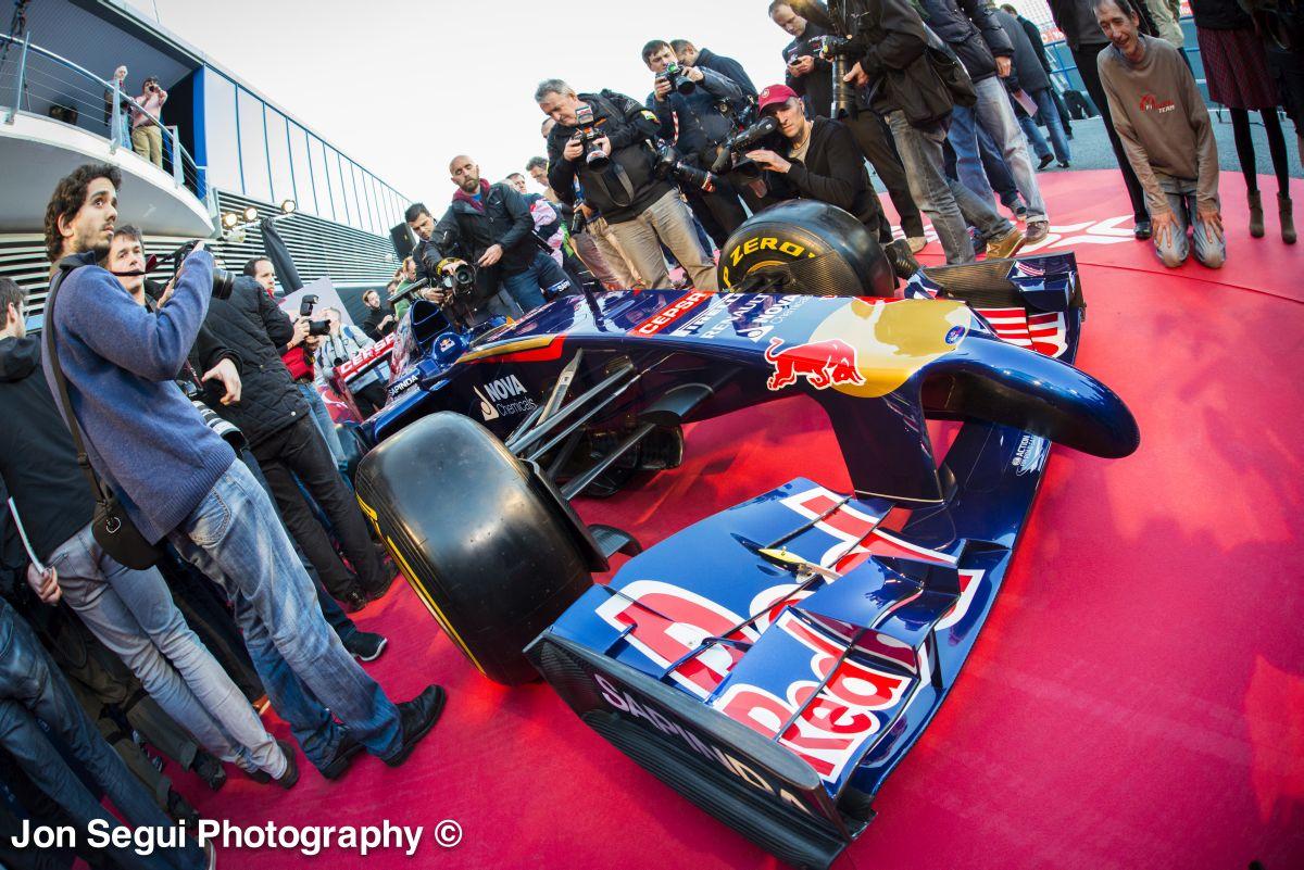Videón a 2014-es Toro Rosso, az STR9