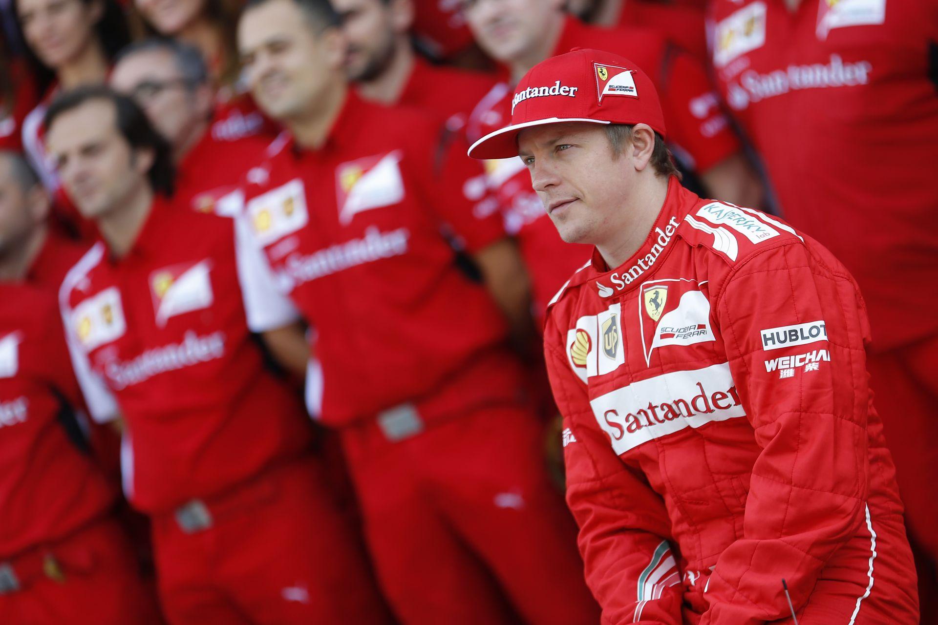 """Raikkönen újra munkába áll a Ferrarinál: A finn """"Jégember"""" motivált, készen áll a munkára"""