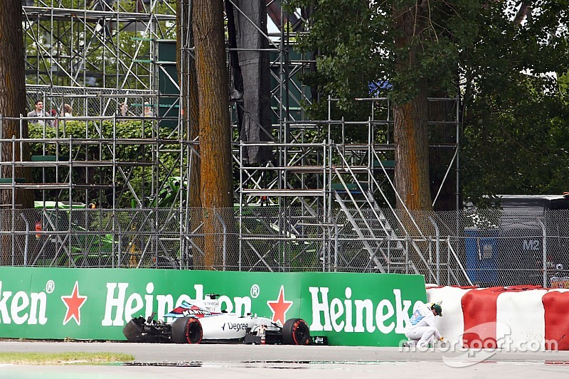Williams culpa al DRS por el accidente de Massa