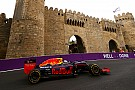 Ricciardo no esperaba estar en la primera fila en Bakú