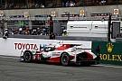 Así sufrió Toyota en la última vuelta de Le Mans