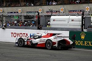 Le Mans Son dakika Le Mans 24 Saat: Toyota;