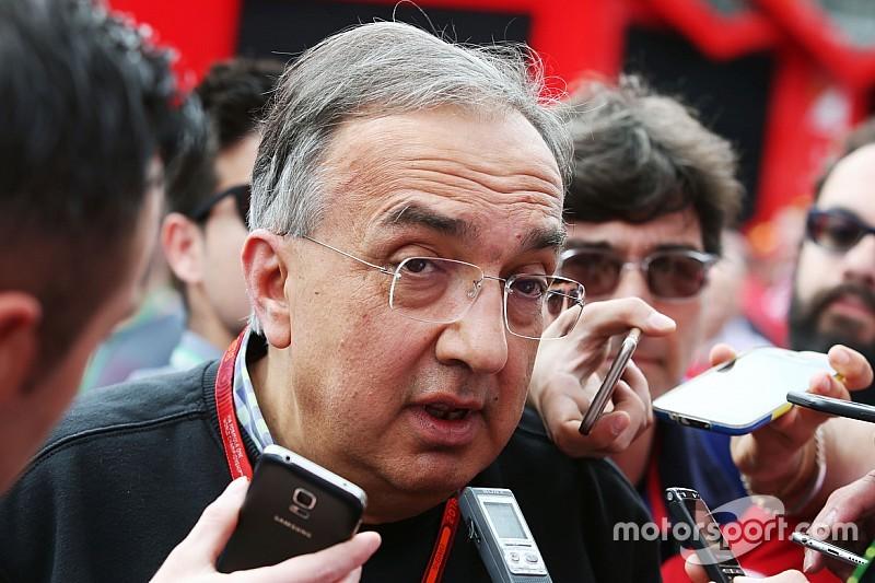 """Marchionne: """"la F1 debe tener libertad para la experimentación"""""""
