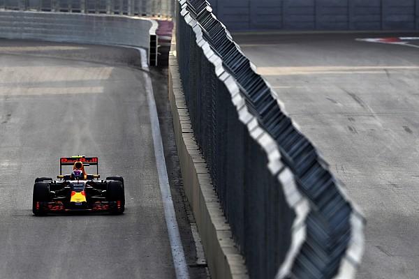 Ricciardo - Bakou, une course