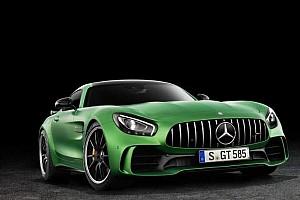 汽车 突发新闻 梅赛德斯发布AMG GT R  汉密尔顿站台