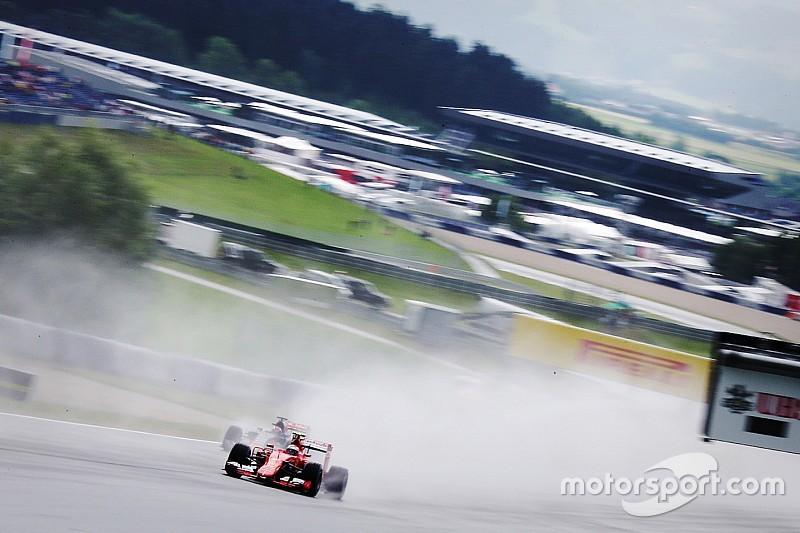 Regen kan een rol spelen in Grand Prix-weekend Oostenrijk