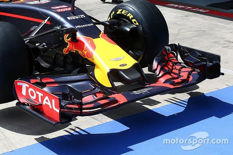 Breve análisis técnico: Morro más corto para el Red Bull RB12