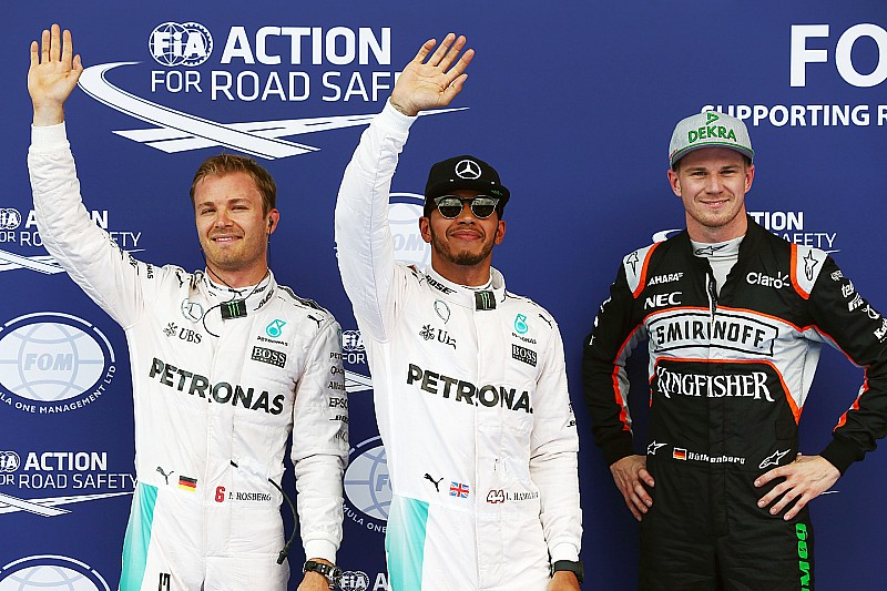 奥地利大奖赛排位赛:雨水搅局,汉密尔顿乱中取胜