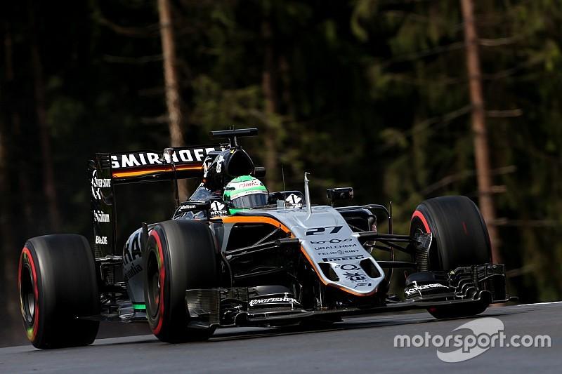 В Force India надеются на помощь Хюлькенбергу от Баттона