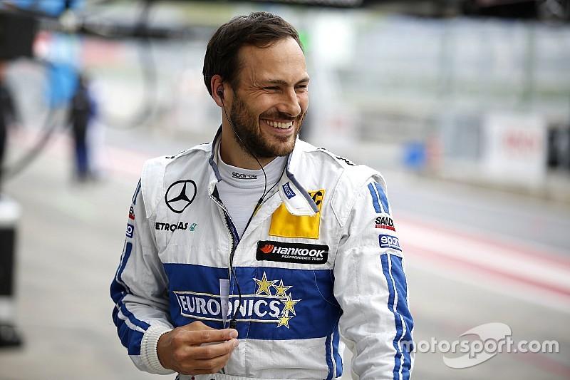 Паффетт дебютує у Спа за кермом Mercedes
