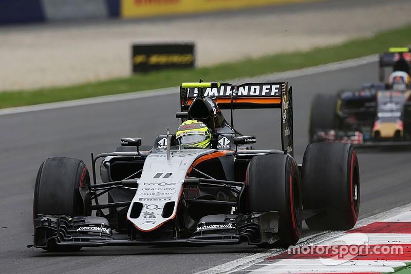 Force India experimenteert met auto om bandenproblemen op te lossen