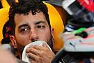 Риккардо объяснил своей ошибкой первое в сезоне поражение в квалификации