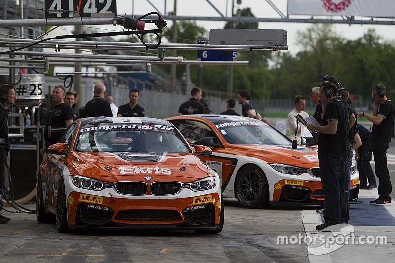 Crash en technische pech hinderen Nederlanders in Europees GT4 op Spa