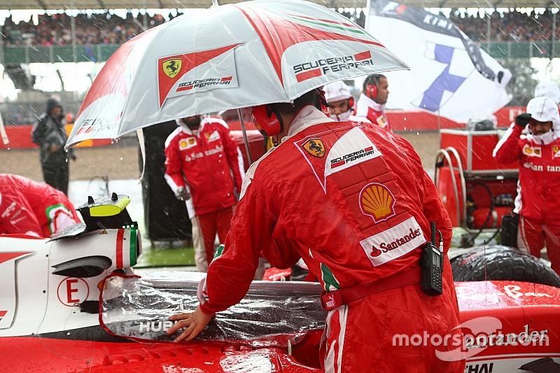 La Ferrari finisce a... bagno: Silverstone non è solo un episodio