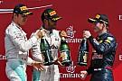 Stand: Verstappen heeft top-drie in vizier, Hamilton nadert Rosberg